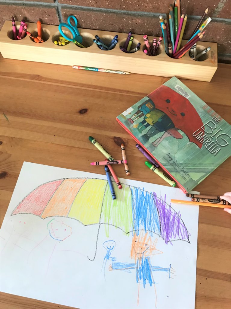 The Big Umbrella by Amy June Bates (Co-written by Juniper Bates)