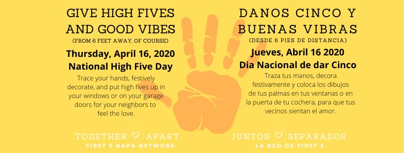 High Five Day by Together Apart Campaign