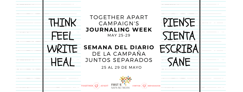 Journaling Week by Together Apart Campaign