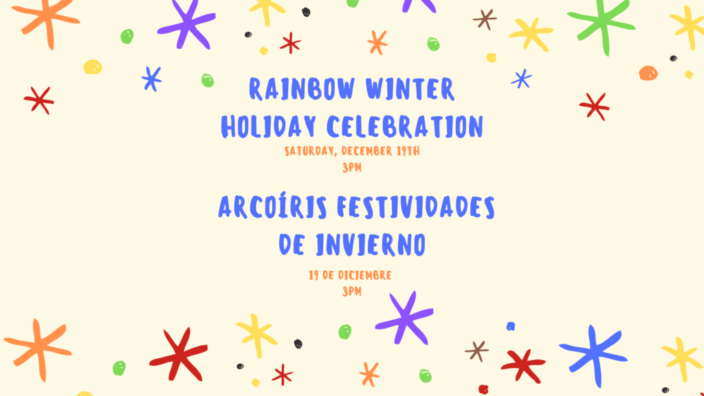 Rainbow Winter Holiday Celebration