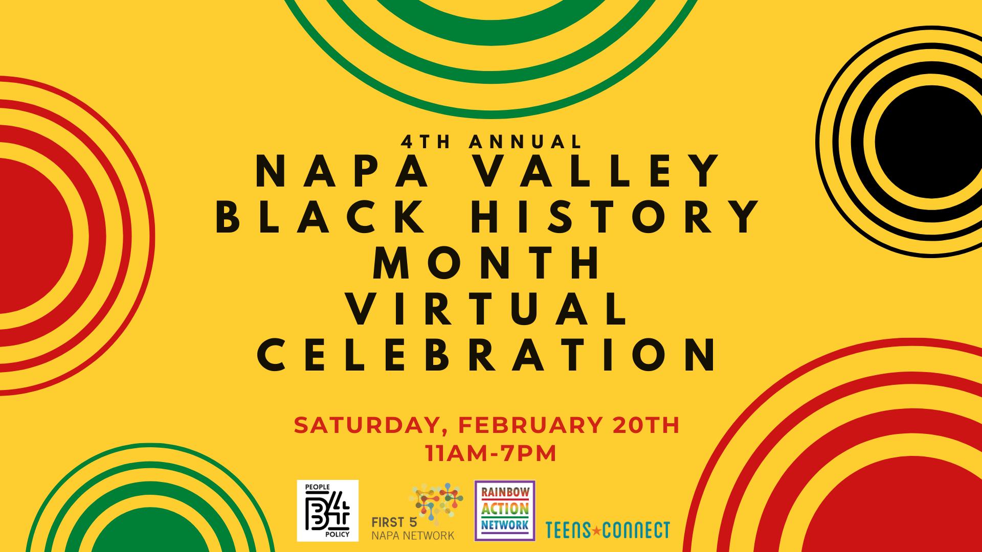 Napa Valley Black History Month Celebration