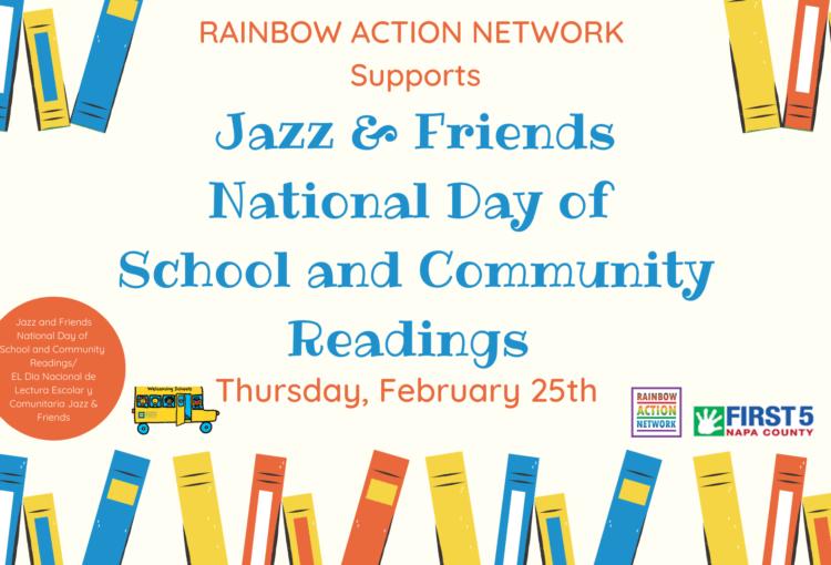 Host a Jazz & Friends School Reading