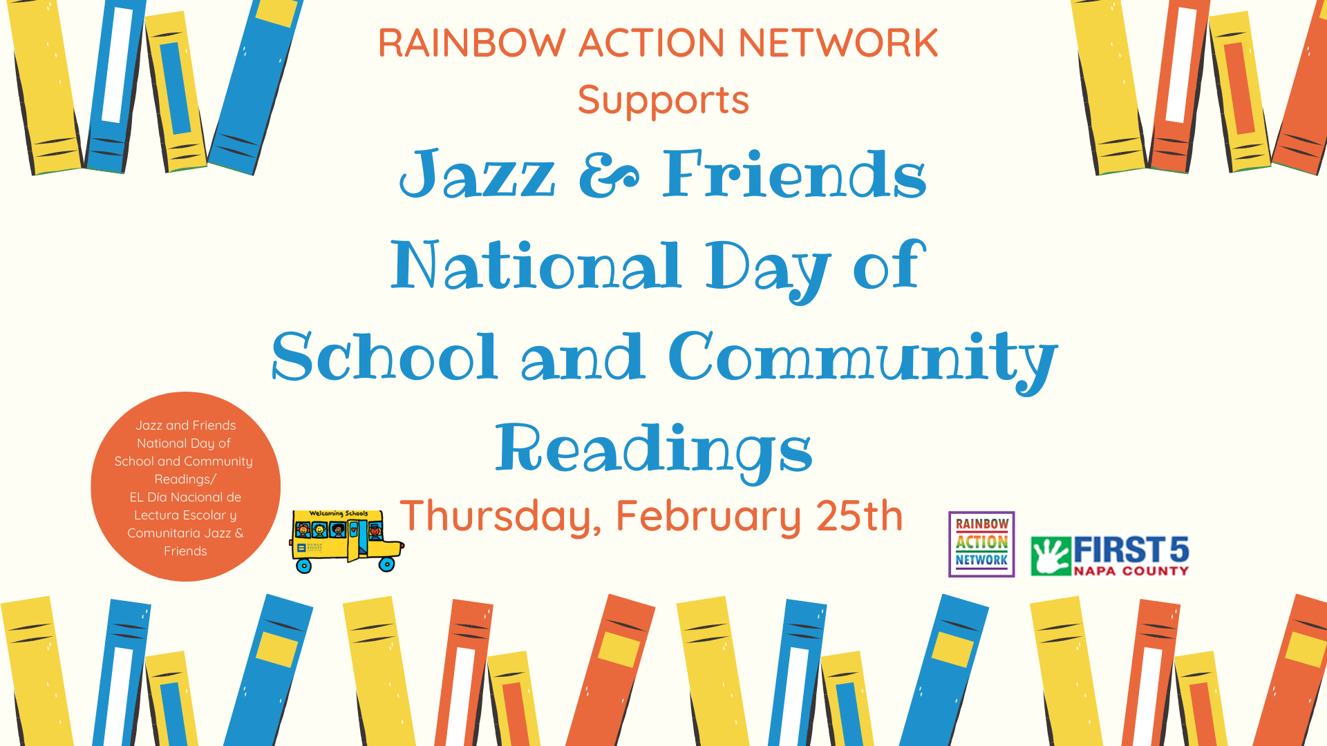 Host a Jazz & Friends School Reading