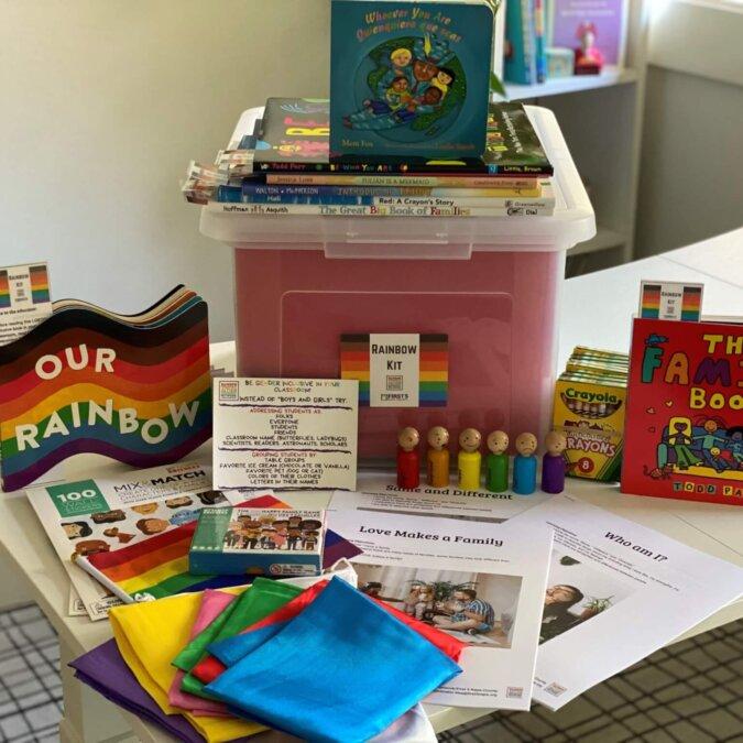 Rainbow Kit Contents